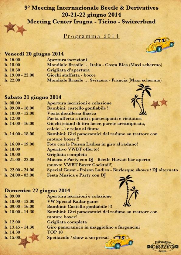 Programma Iragna 2014