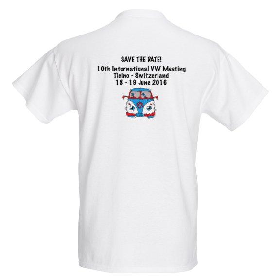 maglietta save date retro